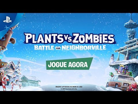 Plants vs. Zombies: Batalha por Neighborville ? Trailer do Festivus de Fim de Ano | PS4