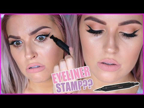 "PERFECT WINGED EYELINER STAMP""! ?? Does It Work!"" ?"