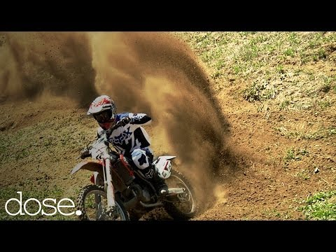Pro MX Riders Doug Parsons & Kris Foster Freeride Motocross in SoCal Canyons - UCsert8exifX1uUnqaoY3dqA