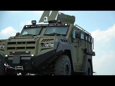 NASA uses new Senator armored vehicles