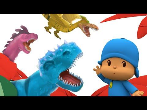 🦖 POCOYÓ en ESPAÑOL – Especial 2020 Dinosaurios   CARICATURAS y DIBUJOS ANIMADOS para niños