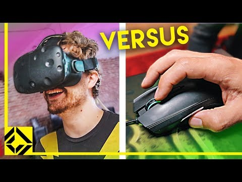 Unfair Advantage? VR vs Mouse + Keyboard in Same Game! - UCSpFnDQr88xCZ80N-X7t0nQ