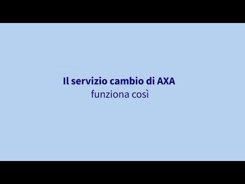 Con parole semplici: così funziona il servizio cambio di AXA