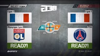 Fifa Street 4 PS3 French Ligue One Select Team Ratings And Kits