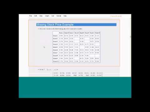 How to calculate the Nearest Correlation Matrix