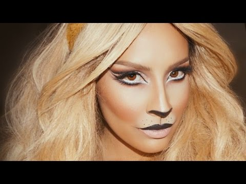 Lion Halloween Makeup | Desi Perkins