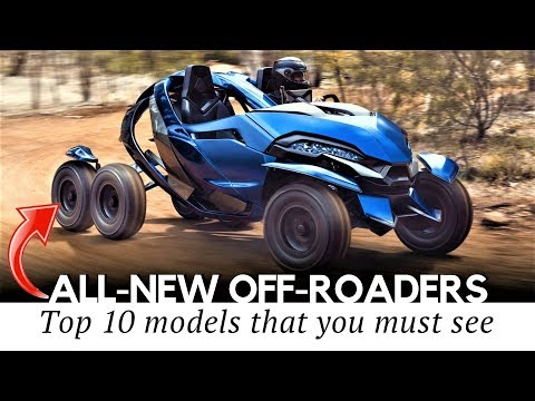 10 All-New Offroad Vehicles and Fun Inventions for Outdoor Explorations - UCu05qdj67VEs4n0qSLF-80w