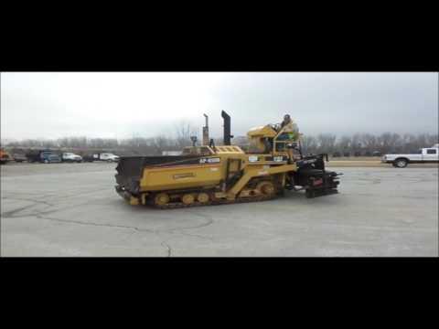 2000 Caterpillar AP-650B paver for sale | no-reserve Internet auction February 16, 2017