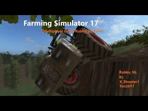 Farming Simulator 17 met RubkuNL 180717