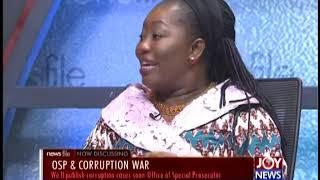 OSP & Corruption - Newsfile on Joy News(18-5-19)