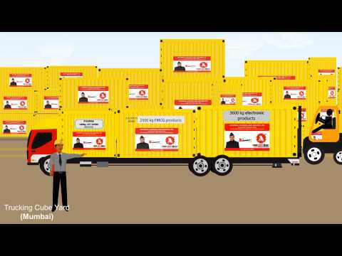 Trucking Cube - No More Transshipment even in Less Than Truck Load