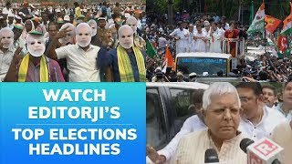 Top Headlines on 10th April: #LokSabhaElection2019