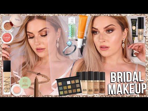 BRIDAL makeup tutorial! ? wedding glam using HOLY GRAIL makeup!
