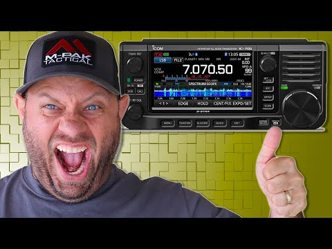 Icom IC-705 Unboxing and Menu Demo - HF/VHF/UHF All Mode Transceiver
