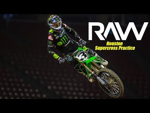 2019 Houston Supercross Practice RAW - Motocross Action Magazine