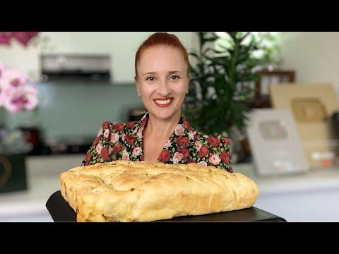Итальянский Хлеб ФОКАЧЧА с сыром и луком Вкуснейшая итальянская лепешка Люда Изи Кук выпечка хлеба
