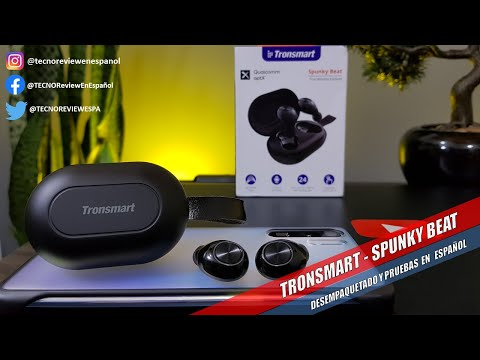 ☑️TRONSMART SPUNKY BEAT 2020 REVISADO EN ESPAÑOL LATINO, los mejores y mas baratos audifonos TWS .