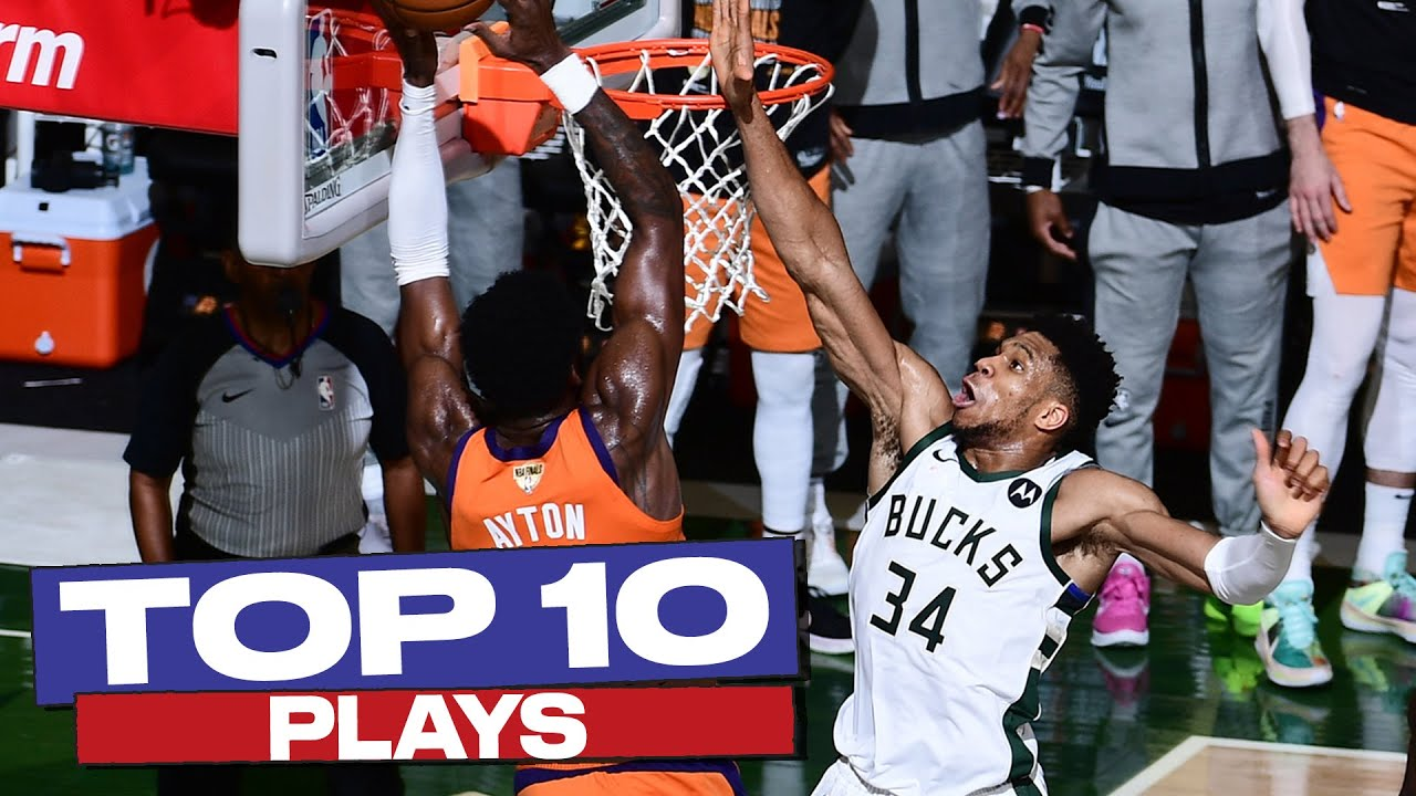 Top 10 PLAYS of the 2020-21 NBA PLAYOFFS 👏