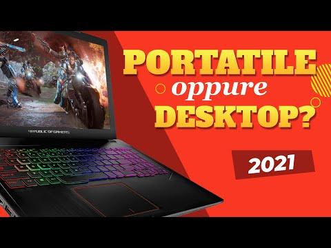 PORTATILE  o PC da GAMING? Nel 2021 le r …