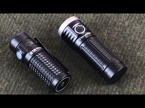 Thrunite T1 VS. Olight S1R Baton II Head-to-Head of the Compact Everyday Carry Flashlights