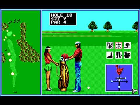 Tournament Golf (Round 11) (SEGA Enterprises) (MS-DOS) [1990]