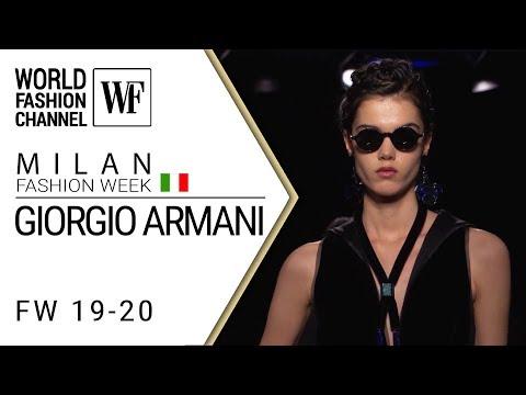 Giorgio Armani | Fall-winter 19-20 | Milan fashion week