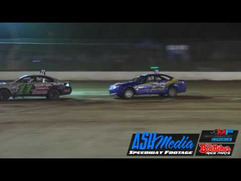 Street Stocks: 2017 Australian Title Amazing Heat Finish - Kingaroy Speedway - dirt track racing video image