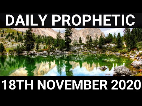 Daily Prophetic 18 November 2020 8 of 12