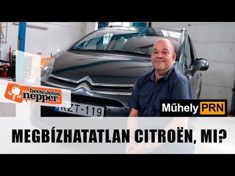 MűhelyPRN 104: Megbízhatatlan Citroën, mi?