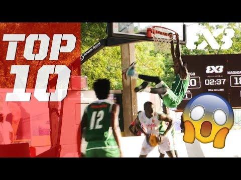 Top 10 National Team Plays of 2018! - FIBA 3x3