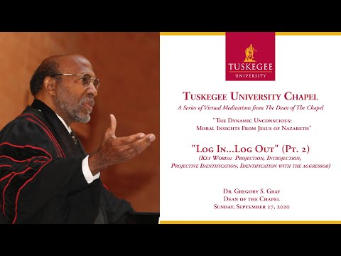 Tuskegee University Virtual Meditations from The Dean of The Chapel 9/27/20