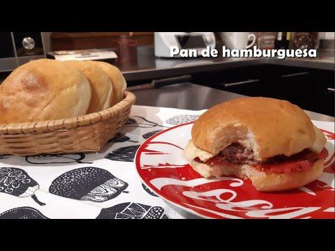 Pan de hamburguesa con Thermomix® Cómo hacer la hamburguesa perfecta #TM6 #TM5 #TM31