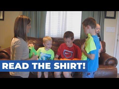 Read the Shirt!