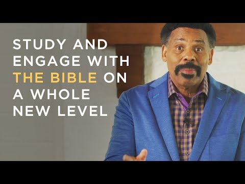 The Historic Release Is Now Here - Tony Evans Study Bible