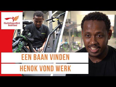 De Eritrese Henok vond een baan in Nederland | Werken als vluchteling | VluchtelingenWerk Nederland photo