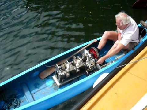 Stirling Engine Powered Canoe - UCflU33iK5PXwpCJ7nje096g