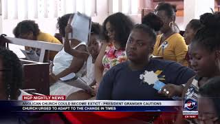 ANGLICAN CHURCH COULD BECOME EXTECT   PRESIDENT GRANGER CAUTIONS