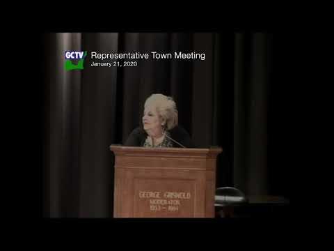 Representative Town Meeting, January 21, 2020