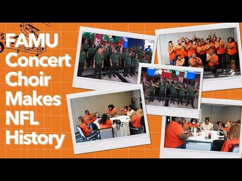 FAMU Concert Choir Makes NFL History