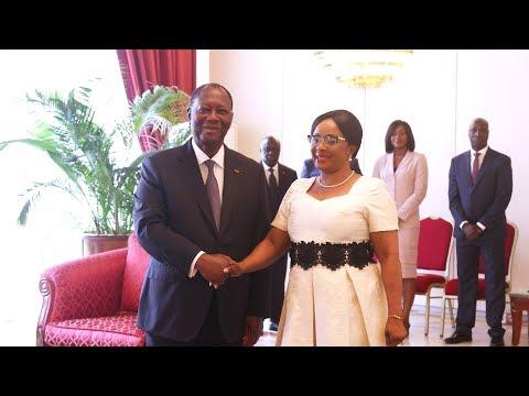 Lettres de Créance de quatre nouveaux Ambassadeurs accrédités en Côte d'Ivoire