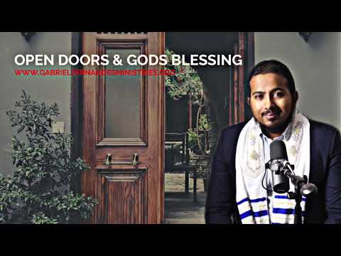 GOD WANTS TO OPEN DOORS OF BLESSING FOR YOU, HOLD ON TO THE WORD OF GOD, POWERFUL MESSAGE AND PRAYER