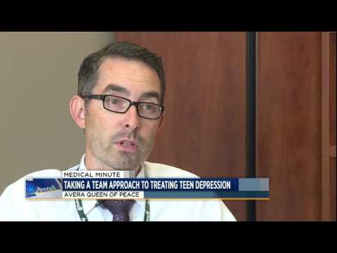 Treating teen depression - Medical Minute