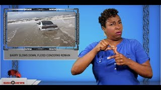 Barry slows down, flood concerns remain (ASL - 7.14.19)