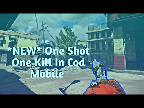 NEW  ONE SHOT ONE KILL Game Mode  Cod Mobile