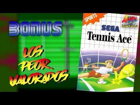 AVOP: BONUS: Los Peor Valorados. Hoy, Tennis Ace de Master System