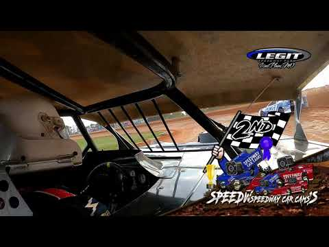 #22 Lonnie Duncan- POWRi Super Stock - 6-26-2021 Legit Speedway Park - In Car Camera - dirt track racing video image