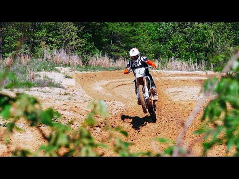 Backyard Motocross Track SHREDDING!