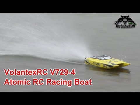 VOLANTEX RC V729 Atomic Brushless RC Racing Catamaran Boat - UCsFctXdFnbeoKpLefdEloEQ