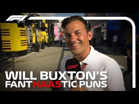 F1 Paddock Pass 2018: Will Buxton's Fant-Haas-tic Puns