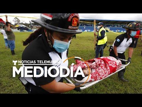 Testigos narran el devastador deslave en Guatemala | Noticias Telemundo